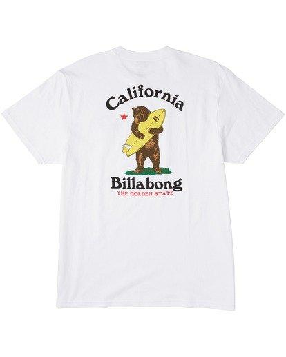 1 Cuffy T-Shirt White M4043BCC Billabong