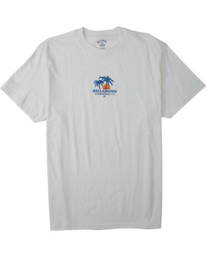 3 Current T-Shirt White M4043BCU Billabong