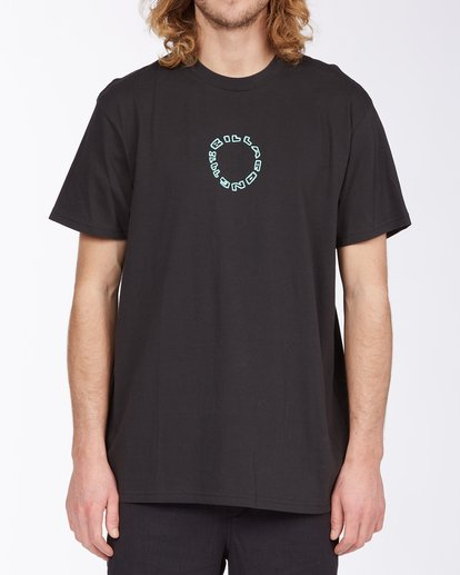 0 Current T-Shirt Black M4043BCU Billabong
