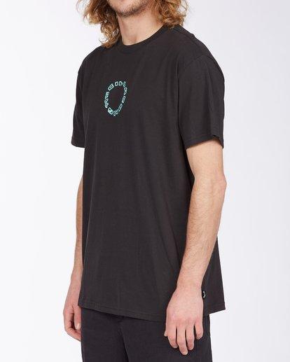 1 Current T-Shirt Black M4043BCU Billabong