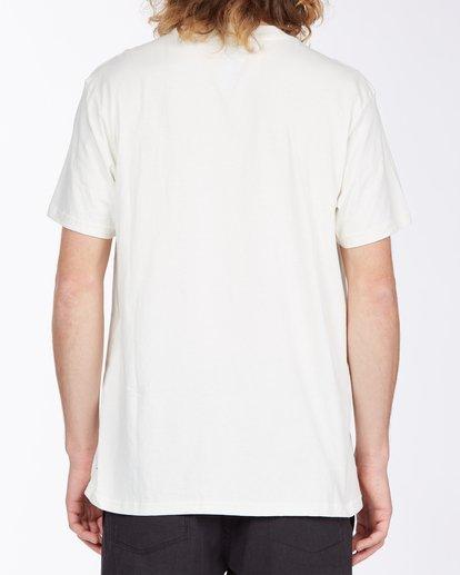 2 Current T-Shirt White M4043BCU Billabong