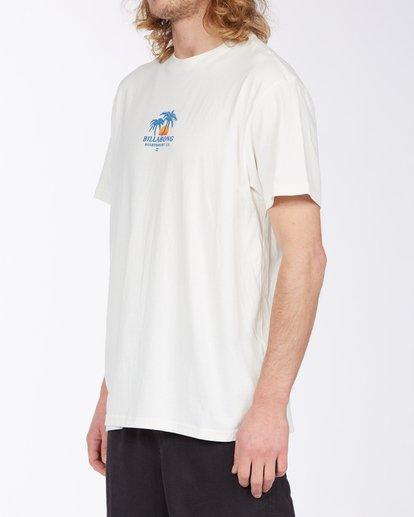 1 Current T-Shirt White M4043BCU Billabong