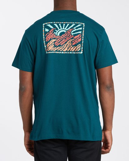2 Crayon Wave T-Shirt Multicolor M4043BCW Billabong