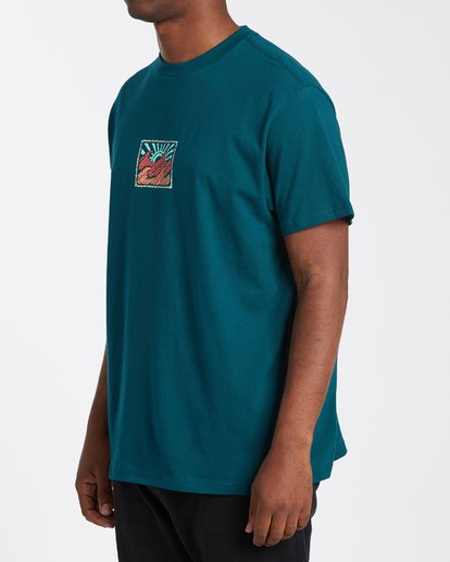 1 Crayon Wave T-Shirt Multicolor M4043BCW Billabong