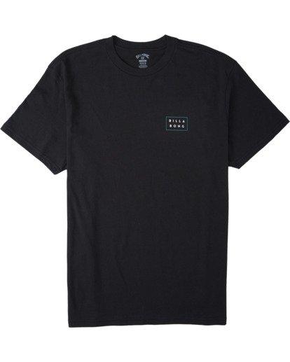 3 Diecut T-Shirt Black M4043BDI Billabong