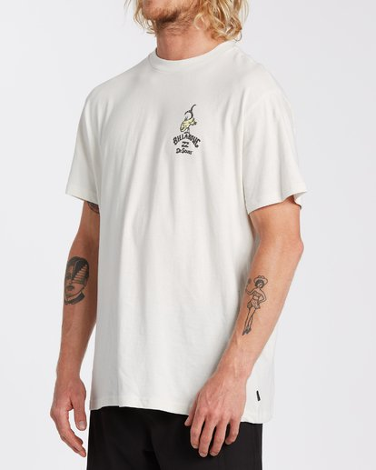 1 From Here To There T-Shirt White M4043BFH Billabong