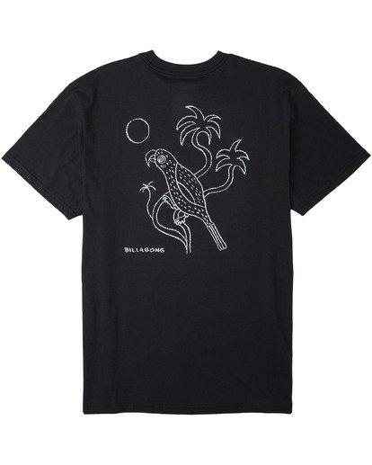 4 Folklore T-Shirt Black M4043BFO Billabong