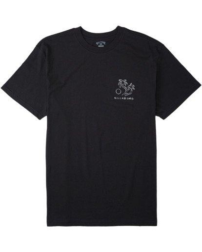 3 Folklore T-Shirt Black M4043BFO Billabong