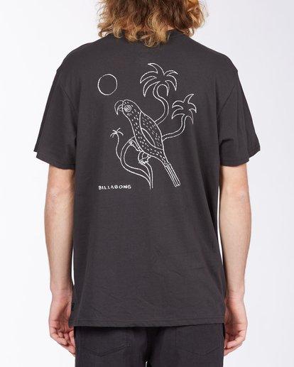 2 Folklore T-Shirt Black M4043BFO Billabong