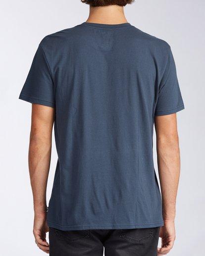 2 Indigo T-Shirt Blue M4043BID Billabong