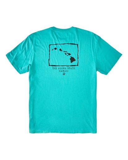 1 Islands Hawaii Short Sleeve T-Shirt Black M4043BIS Billabong