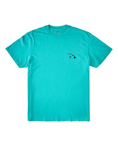 0 Islands Hawaii Short Sleeve T-Shirt Black M4043BIS Billabong