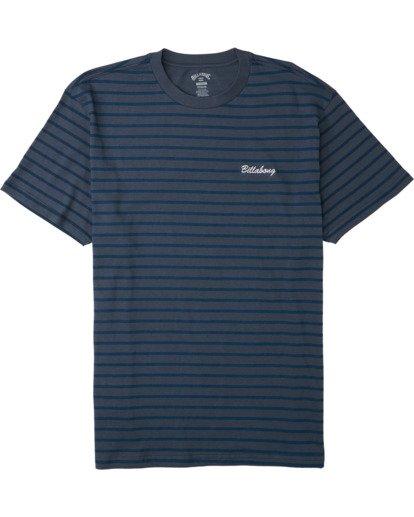3 Line Up T-Shirt Blue M4043BLU Billabong