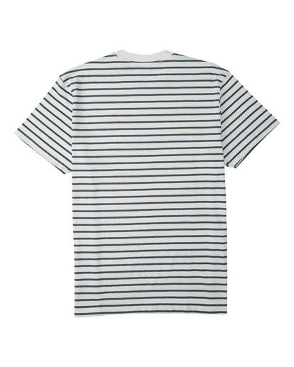 4 Line Up T-Shirt White M4043BLU Billabong