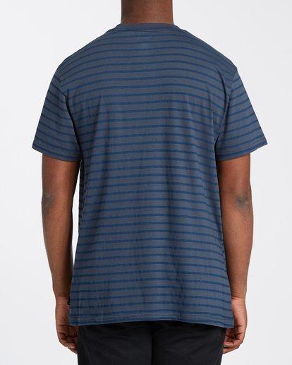 2 Line Up T-Shirt Blue M4043BLU Billabong