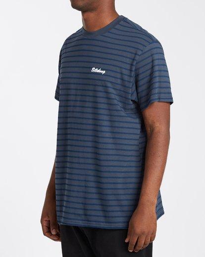1 Line Up T-Shirt Blue M4043BLU Billabong