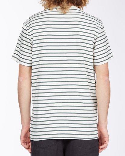 2 Line Up T-Shirt White M4043BLU Billabong