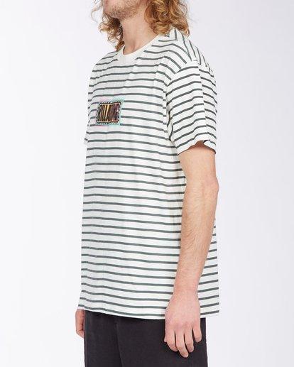 1 Line Up T-Shirt White M4043BLU Billabong