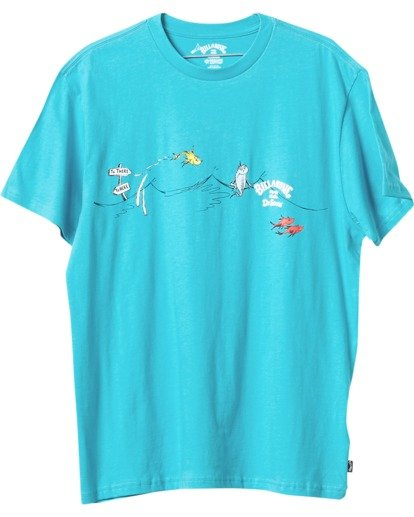 3 One Fish Two Fish T-Shirt Black M4043BOF Billabong