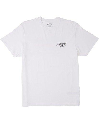 3 Oh The Places You'll Go T-Shirt White M4043BOG Billabong