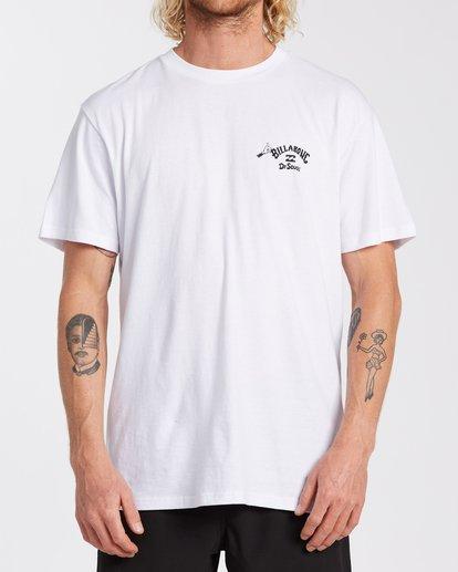 0 Oh The Places You'll Go T-Shirt White M4043BOG Billabong
