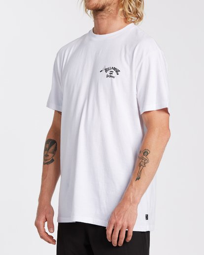 1 Oh The Places You'll Go T-Shirt White M4043BOG Billabong