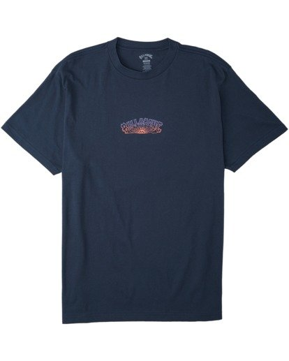 3 Okapi T-Shirt Blue M4043BOK Billabong
