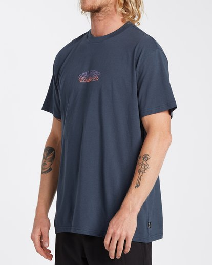 1 Okapi T-Shirt Blue M4043BOK Billabong