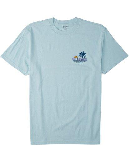 3 Palmas T-Shirt Blue M4043BPA Billabong