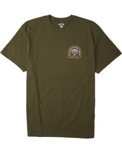 0 Palmas T-Shirt Green M4043BPA Billabong