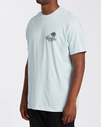 1 Palmas T-Shirt Blue M4043BPA Billabong