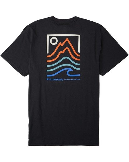 1 Peak T-Shirt Black M4043BPK Billabong