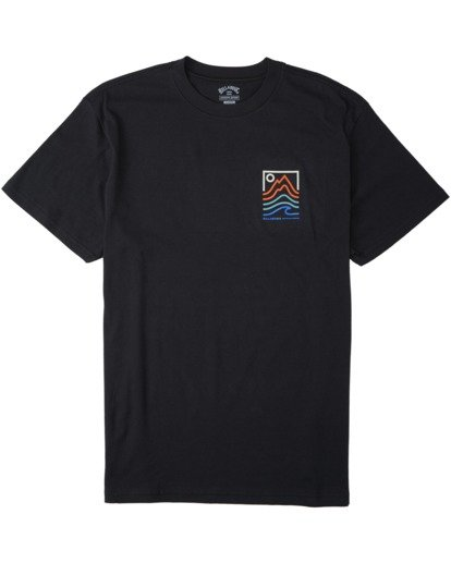 0 Peak T-Shirt Black M4043BPK Billabong