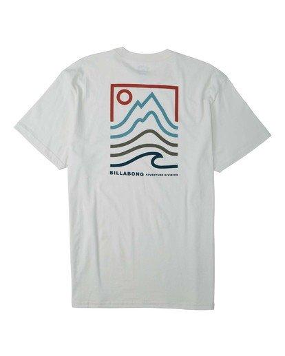 1 Peak T-Shirt White M4043BPK Billabong