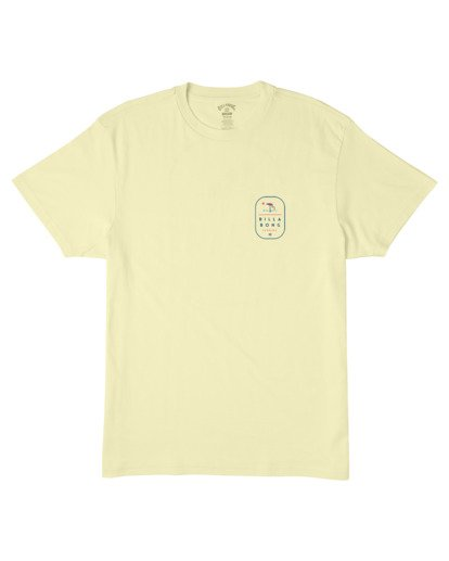0 Florida Tour T-Shirt Yellow M4043BRF Billabong