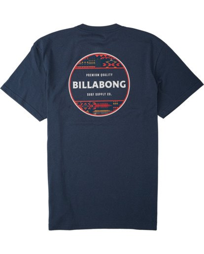 4 Rotor T-Shirt Blue M4043BRO Billabong
