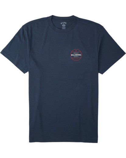 3 Rotor T-Shirt Blue M4043BRO Billabong