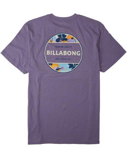 1 Rotor T-Shirt Purple M4043BRO Billabong