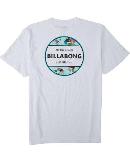 4 Rotor T-Shirt White M4043BRO Billabong