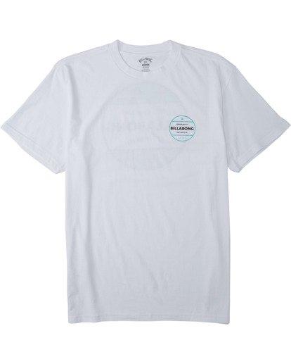 3 Rotor T-Shirt White M4043BRO Billabong