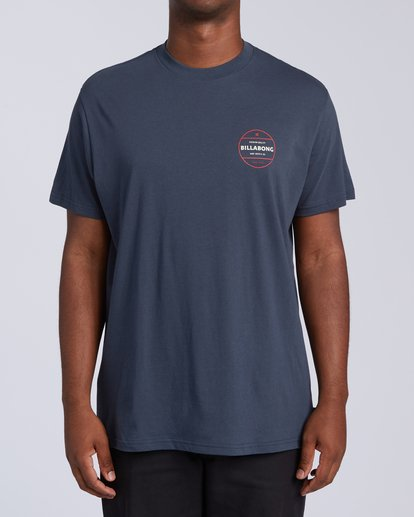 0 Rotor T-Shirt Blue M4043BRO Billabong
