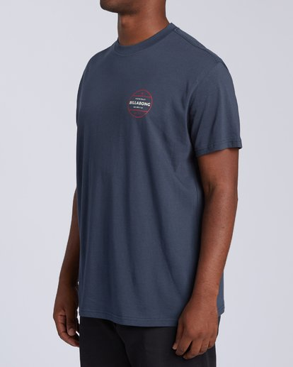 1 Rotor T-Shirt Blue M4043BRO Billabong