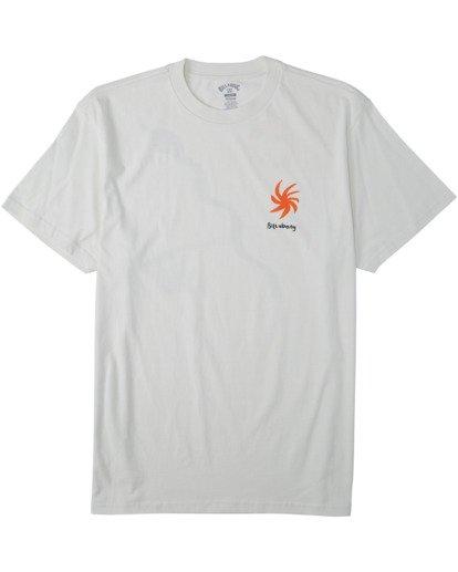 0 Sidewinder T-Shirt White M4043BSI Billabong