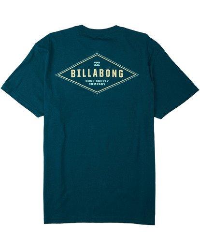 1 Surf Supply T-Shirt Blue M4043BSS Billabong
