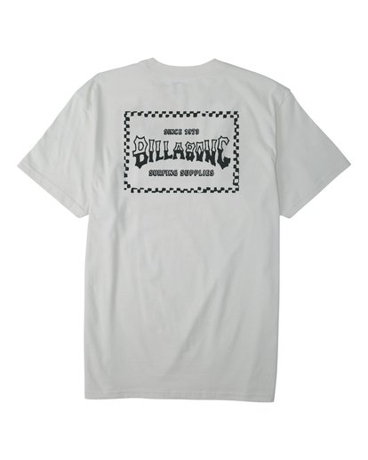 1 Supply Wave T-Shirt White M4043BSW Billabong