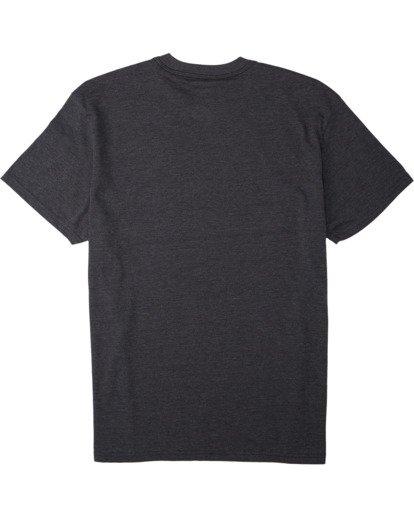 1 United Stacked T-Shirt Black M4043BUS Billabong