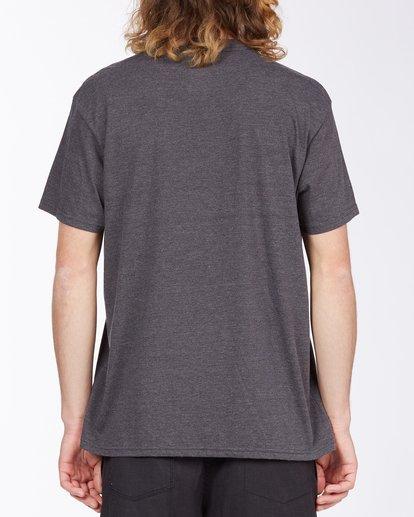 2 United Stacked T-Shirt Black M4043BUS Billabong