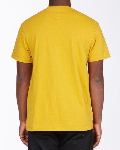 2 United Stacked T-Shirt Beige M4043BUS Billabong