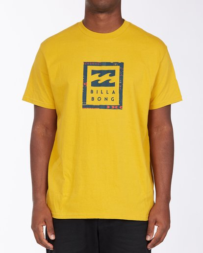 0 United Stacked T-Shirt Beige M4043BUS Billabong