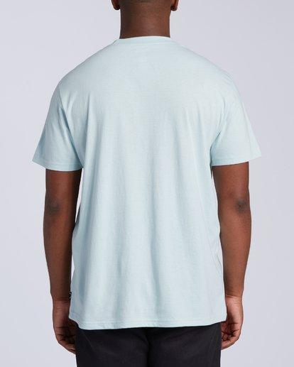 2 United Stacked T-Shirt Blue M4043BUS Billabong